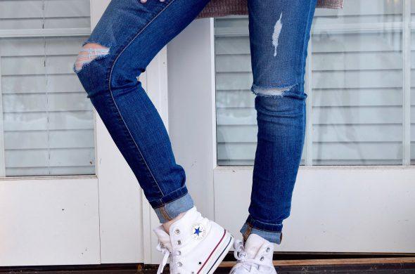 Spijkerbroek pasvorm
